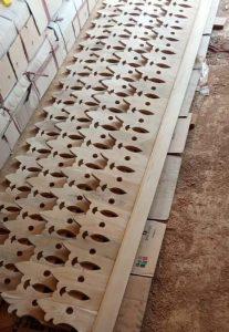 motif lisplang kayu Sleman